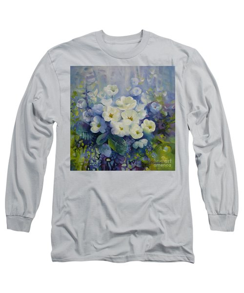 Long Sleeve T-Shirt featuring the painting Spring by Elena Oleniuc