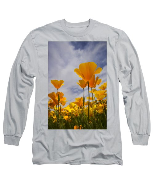 Springtime Poppies  Long Sleeve T-Shirt