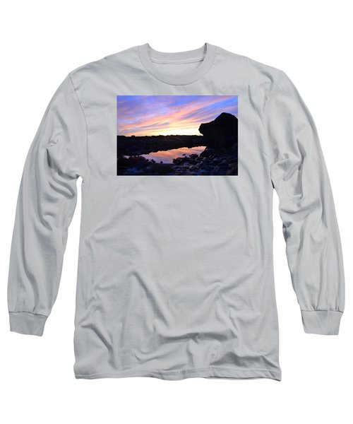 Long Sleeve T-Shirt featuring the photograph Sunset by Alex King
