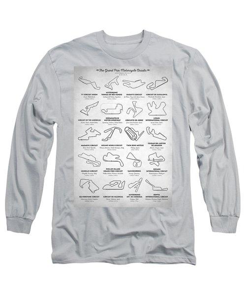 The Motogp Circuits Long Sleeve T-Shirt