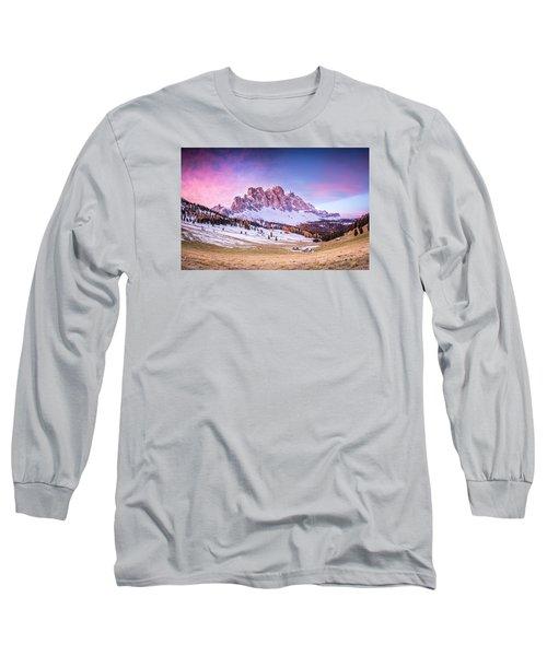 Val Di Funes, Italy Long Sleeve T-Shirt