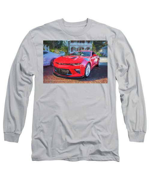 Long Sleeve T-Shirt featuring the photograph 2017 Chevrolet Camaro Ss2  by Rich Franco