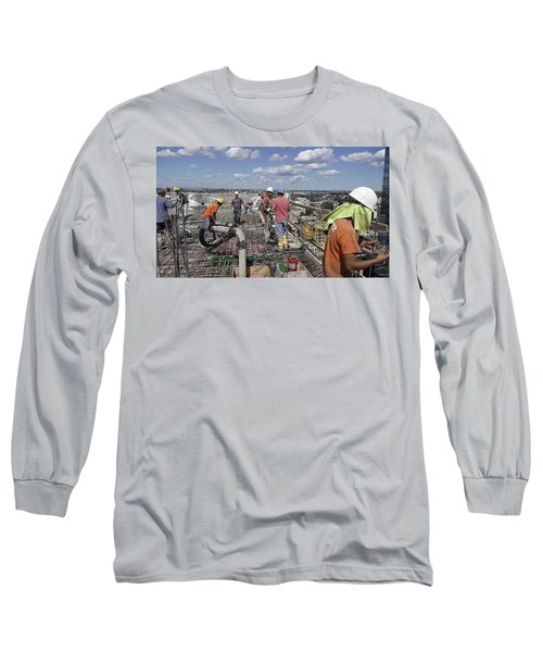 27th Street Lic 5 Long Sleeve T-Shirt by Steve Sahm