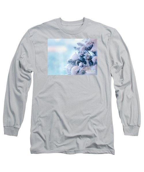Christmas Tree Border Long Sleeve T-Shirt