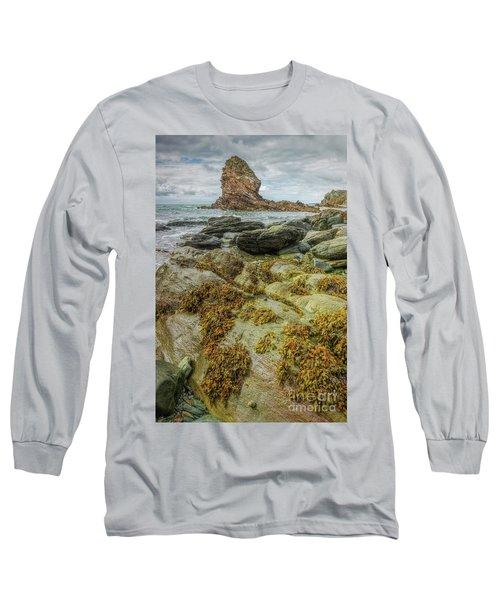 Long Sleeve T-Shirt featuring the photograph Gwenfaens Pillar by Ian Mitchell