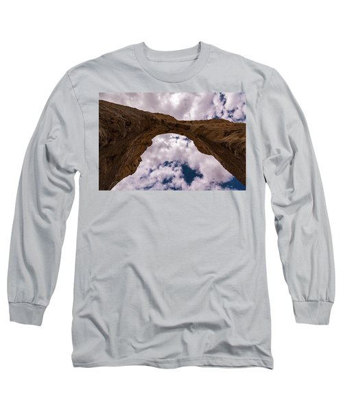 Long Sleeve T-Shirt featuring the photograph Monument Rocks by Jay Stockhaus