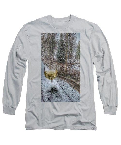 Mountain Living Long Sleeve T-Shirt by Fiona Kennard