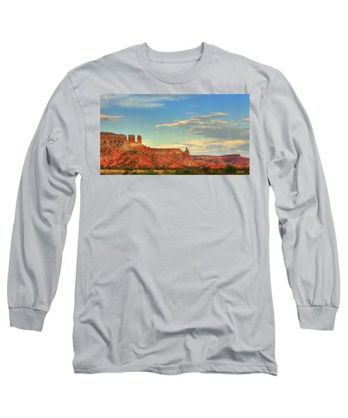 Sunset At Ghost Ranch Long Sleeve T-Shirt