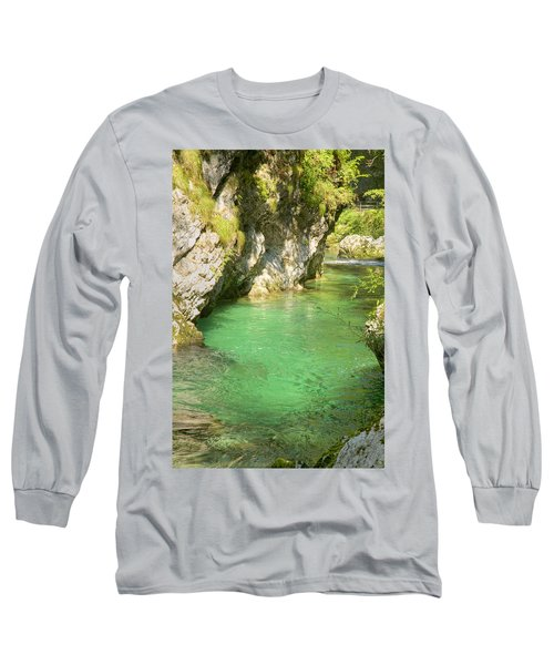 The Vintgar Gorge Long Sleeve T-Shirt