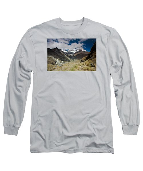 View From Portachuelo Pass Long Sleeve T-Shirt