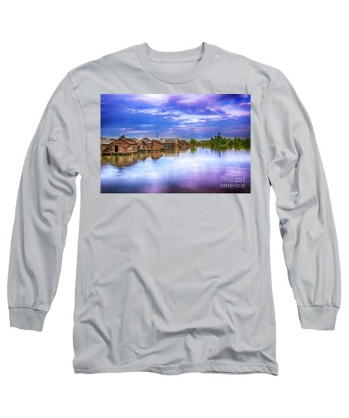 Long Sleeve T-Shirt featuring the photograph Village by Charuhas Images