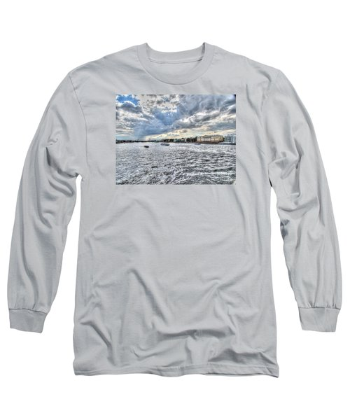 Long Sleeve T-Shirt featuring the pyrography Yury Bashkin Peterburg Russia by Yury Bashkin