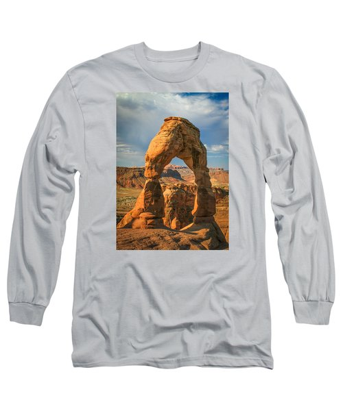 #3057 - Delicate Arch, Utah Long Sleeve T-Shirt