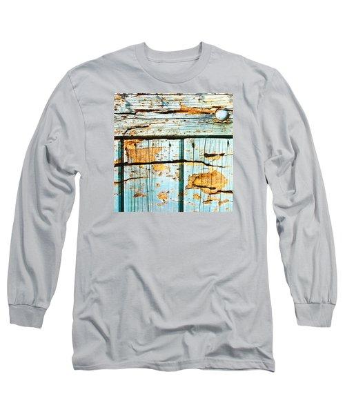 Wooden Background Long Sleeve T-Shirt