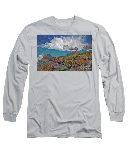 34- Beauty And Power Long Sleeve T-Shirt by Joseph Keane