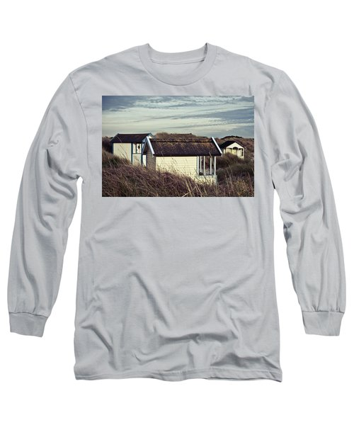 Beach Houses And Dunes Long Sleeve T-Shirt