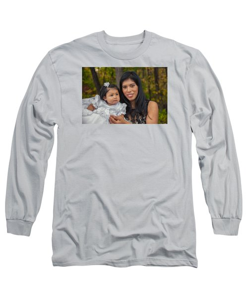 Cruz Baptism Long Sleeve T-Shirt