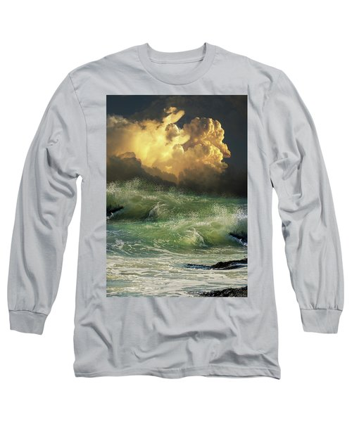 Long Sleeve T-Shirt featuring the photograph 4449 by Peter Holme III