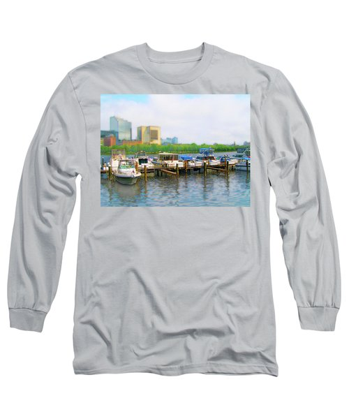 Long Sleeve T-Shirt featuring the photograph 4455 by Peter Holme III