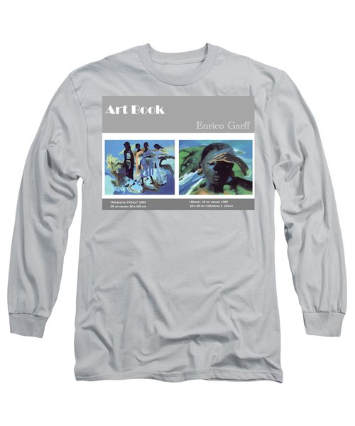 Art Book Long Sleeve T-Shirt