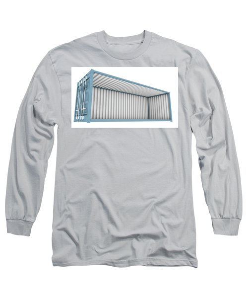 Shipping Container Cutaway Long Sleeve T-Shirt
