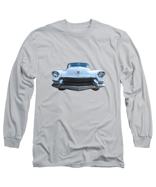 55 Cadillac Down Inna Meadow Up In Kerrville Long Sleeve T-Shirt
