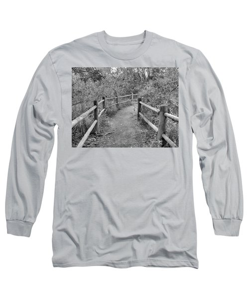 Almost There Long Sleeve T-Shirt by Beto Machado