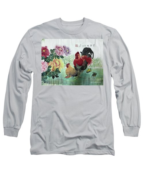 Chinese Painting Long Sleeve T-Shirt