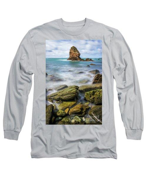 Gwenfaens Pillar Long Sleeve T-Shirt by Ian Mitchell