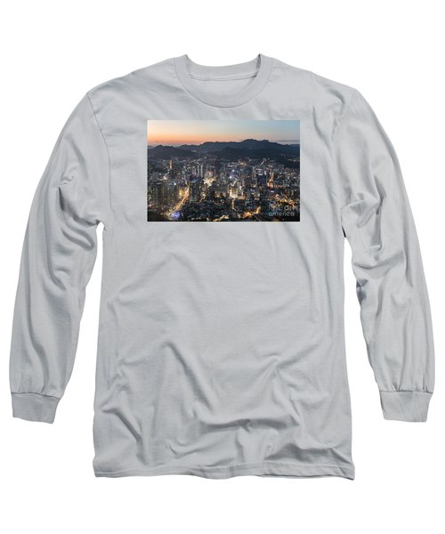 Sunset Over Seoul Long Sleeve T-Shirt