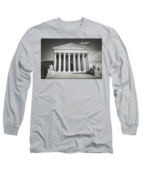 Supreme Court Building Long Sleeve T-Shirt