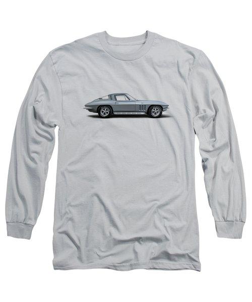 65 Stingray Long Sleeve T-Shirt by Douglas Pittman