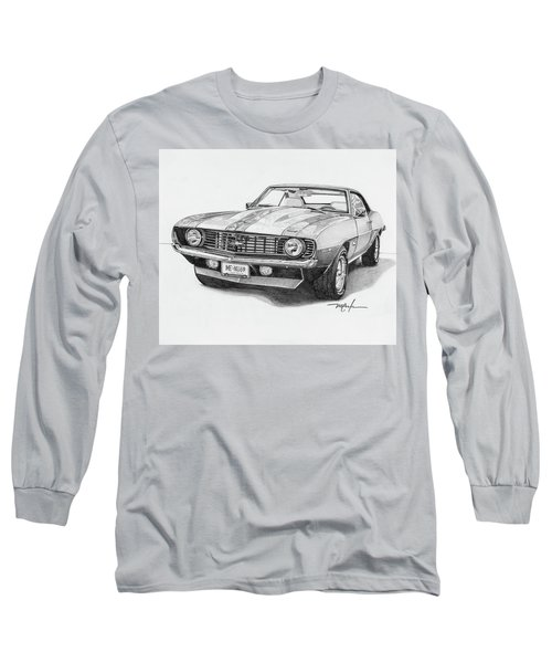 69 Camaro Long Sleeve T-Shirt