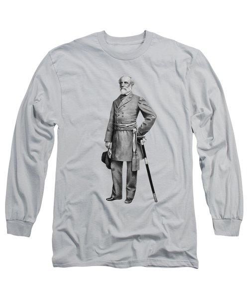 General Robert E Lee Long Sleeve T-Shirt