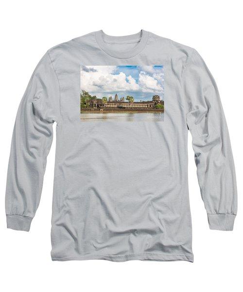 Angkor Wat In Cambodia Long Sleeve T-Shirt