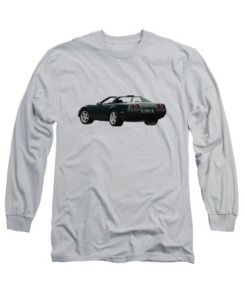 94 Corvette Zr-1 Three-quarter Back Long Sleeve T-Shirt