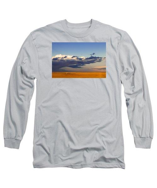 A Barn On The Prairie Long Sleeve T-Shirt