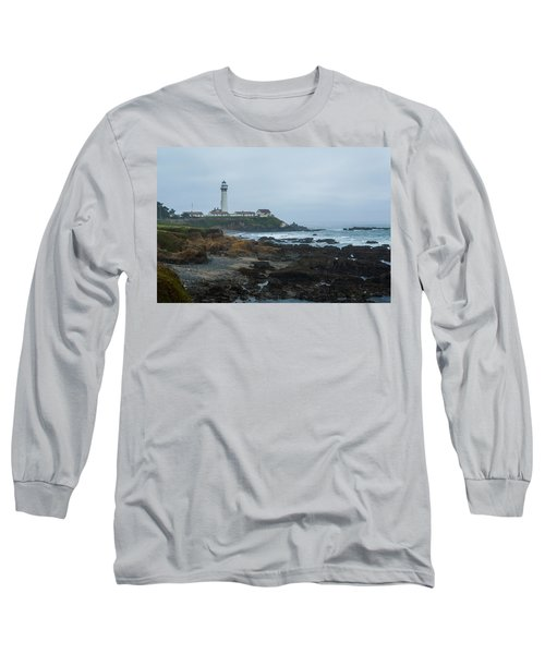 A Cloudy Day At Pigeon Point Long Sleeve T-Shirt