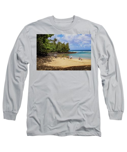 A Day At Ke'e Beach Long Sleeve T-Shirt