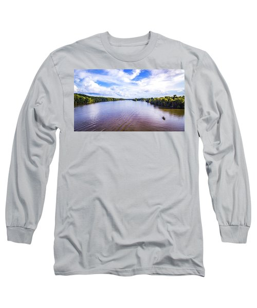 A Day On The River Long Sleeve T-Shirt