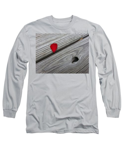 Long Sleeve T-Shirt featuring the photograph A Drop Of Color by Robert Knight