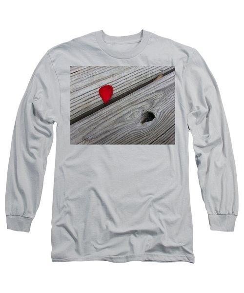 A Drop Of Color Long Sleeve T-Shirt