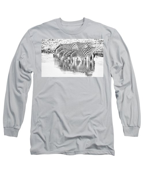 A Family That Drinks Together. Long Sleeve T-Shirt