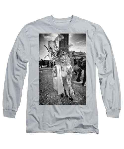 A Feathered Casanova  Long Sleeve T-Shirt by Jack Torcello
