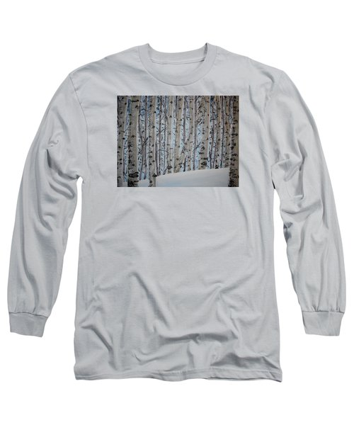 A Grove Of Aspens Long Sleeve T-Shirt