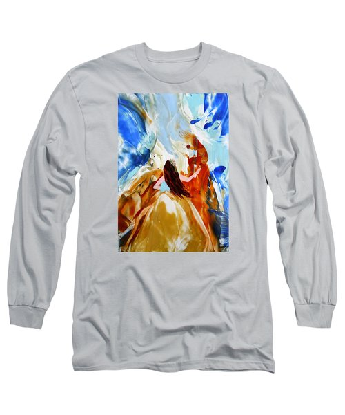 A Hula For You Long Sleeve T-Shirt by Marionette Taboniar