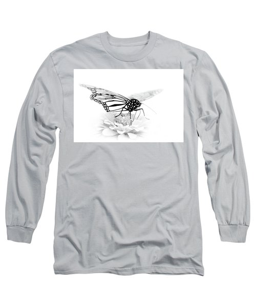 A Light Touch - Butterfly Long Sleeve T-Shirt by Nikolyn McDonald