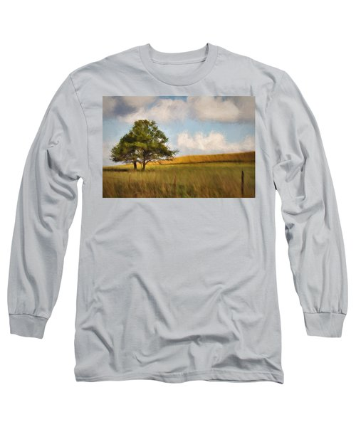 Long Sleeve T-Shirt featuring the photograph A Little Shade by Lana Trussell