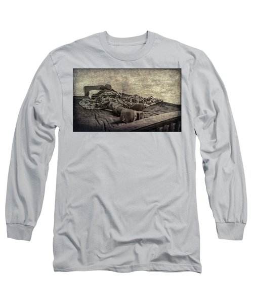 A Long Day On The Trail Long Sleeve T-Shirt