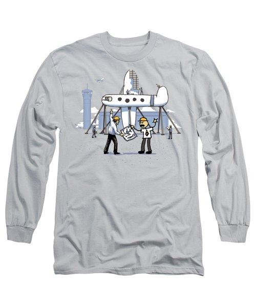 Long Sleeve T-Shirt featuring the digital art A Matter Of Perspective by Ben Hartnett